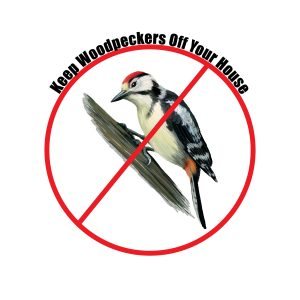 Bird Diverter for Woodpecker Control